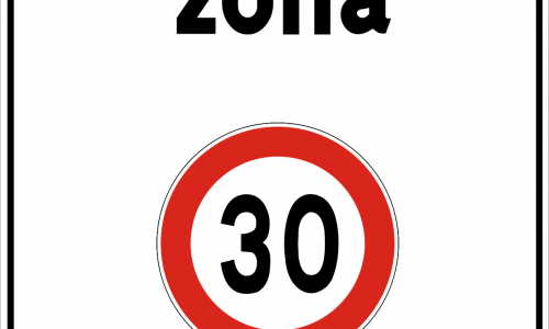 cartello Zona 30