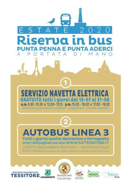 riserva in bus 2020